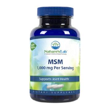 Nature's Lab MSM - Methylsulfonylmethane, 1000mg, Capsules