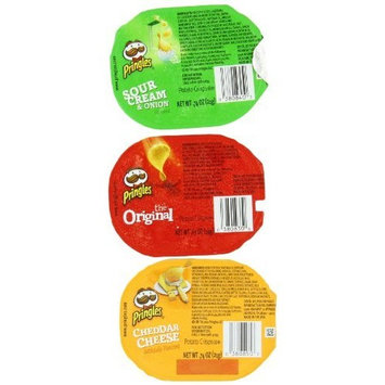Pringles® The Original/Sour Cream & Onion/Cheddar Cheese Potato Crisps Variety Pack