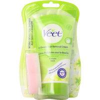 Veet In-shower Hair Removal Cream Dry Skin, 5.1-Ounce Bottle (Pack of 2)