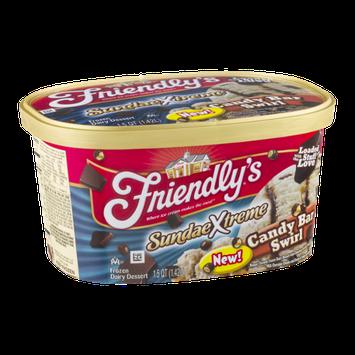 Friendly's SundaeXtreme Candy Bar Swirl Frozen Dairy Dessert