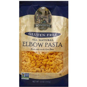 Bonavita Gluten Free All Natural Elbow Pasta, 12 oz, (Pack of 6)