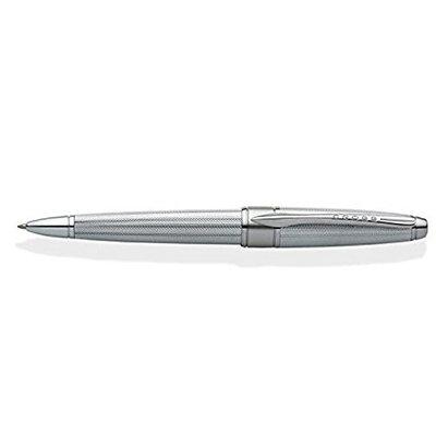 Cross Apogee Chrome a diamond-patterned Ballpoint Pen