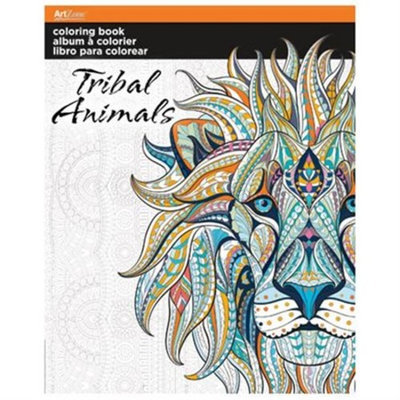 Trend Coloring Book - Tribal Animals 8