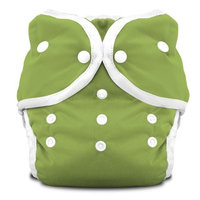 Thirsties Duo Diaper Snap, Honeydew, Size Two (18-40 lbs)