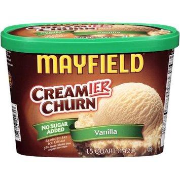 Mayfield: Creamier Churn No Sugar Added Vanilla Ice Cream, 1.5 Qt