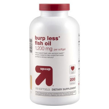 up & up up&up Burp Less Fish Oil 1200 mg Softgels - 200 Count