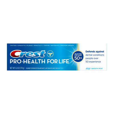 Crest Pro-Health for Life Smooth Mint Fluoride Toothpaste