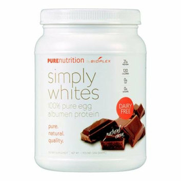 Pure Nutrition Simply White Powder Natural Cocoa 16 oz