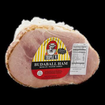 Triple M Bone-In Budaball Ham