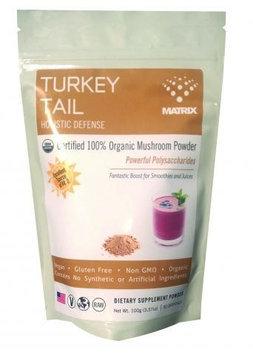 Mushroom Matrix - Turkey Tail Organic Mushroom Powder - 3.57 oz.
