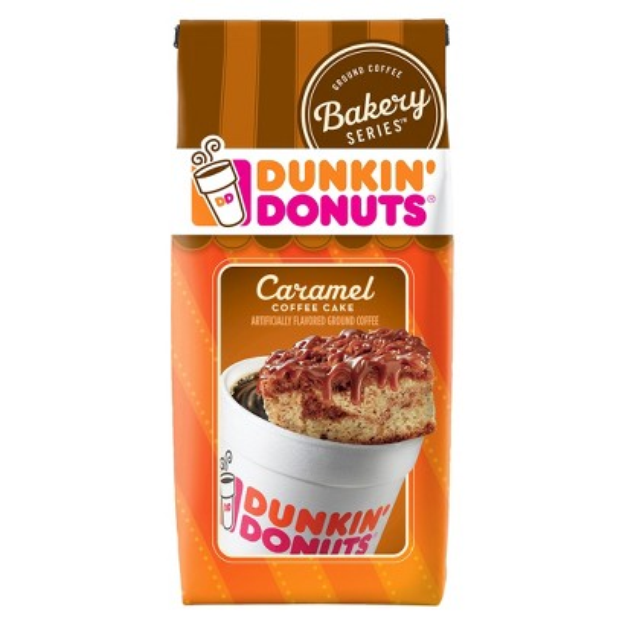 Dunkin Donuts Dunkin' Donuts Caramel Coffee Cake Ground Coffee 11 oz