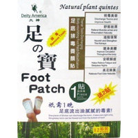 Deity Foot Patch 12 Count
