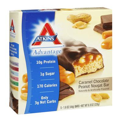 Atkins Advantage Caramel Chocolate Peanut Nougat Bar