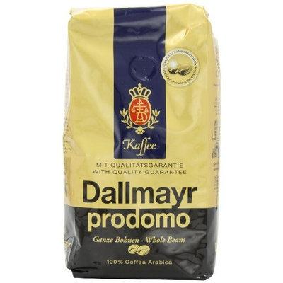Dallmayr Gourmet Coffee, Prodomo (Whole Bean), 500g Vacuum Packs (Pack of 2)