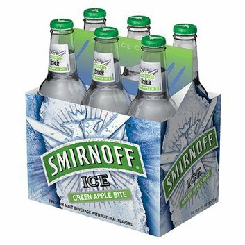 Smirnoff Ice 6-pk. Green Apple Bite Malt Beverage 12-oz.