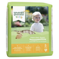 Seventh Generation Baby Diapers - Size 5 (92 Count)