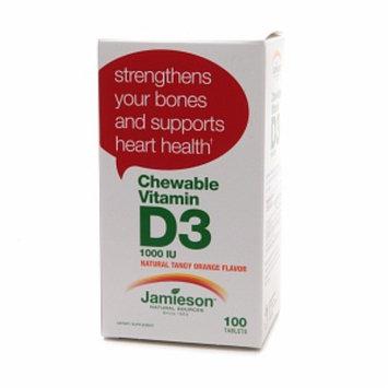 Jamieson Chewable Vitamin D3 1000 IU