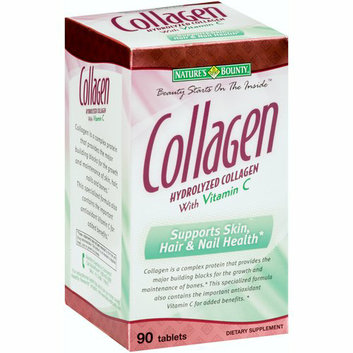 Nature's Bounty Hydrolyzed Collagen Dietary Supplement with Vitamin C