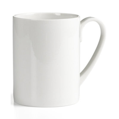 Martha Stewart Collection Whiteware Can Mug