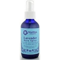 WiseWays Herbals - Lavender Burn Spray 4 oz - Body Care