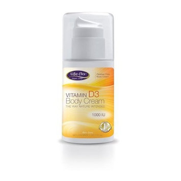 Life Flo Life-Flo D-3 Body Cream, 4-Ounce