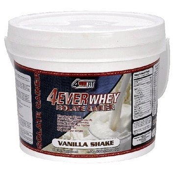 4Ever Fit Isolate Gainer Vanilla 8lb tub