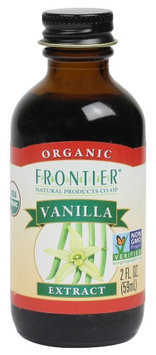 Frontier Vanilla Extract - Organic - 2 oz