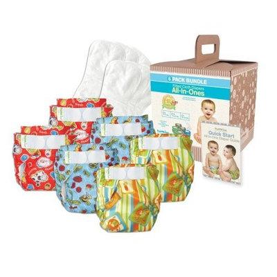 Bumkins Diaper Bundle 6-Pack- Unisex, Medium