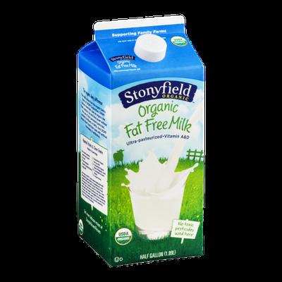 Stonyfield Organic Fat Free Milk