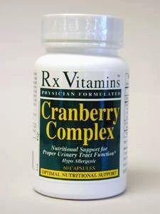 Rx Vitamin's Cranberry Complex 60 caps