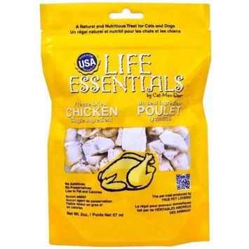 Cat-Man-Doo Life Essentials All Natural Chicken Treats (2 oz)