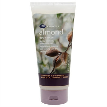 Boots Extracts Body Wash, Almond, 6.7 fl oz