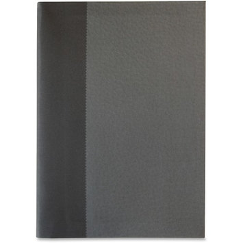 Sparco Flexiback Notebook - A5 8.27 X 5.85 - 1 Each Cream Paper Black, Gray Cover (spr-36123)