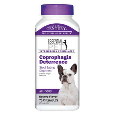 21st Century Dog Coprophagia Deterrence