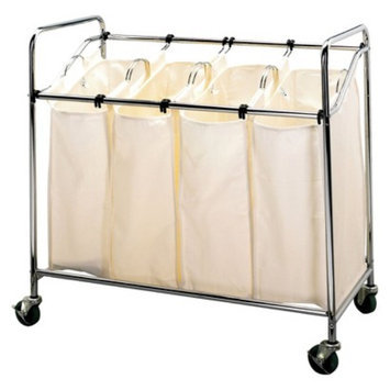 Household Essentials Laundry Sorter - Chrome