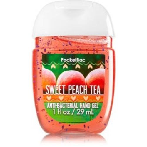 Bath & Body Works PocketBac Hand Sanitizer Gel Sweet Peach Tea