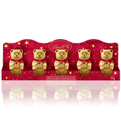 Lindt Mini Teddies Chocolate