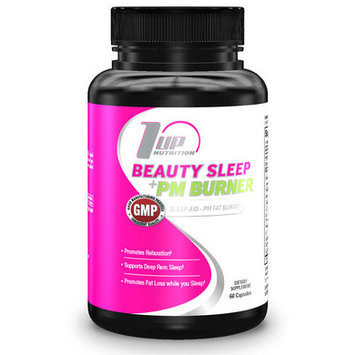 1 Up Nutrition 8810002 Beauty Sleep Plus Pm Burner 60 - Capsules