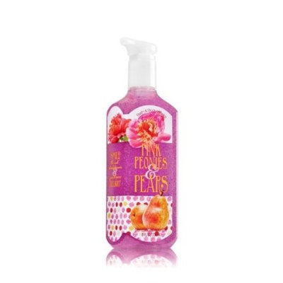 Bath & Body Works Deep Cleansing Hand Soap PINK PEONIES & PEARS 8 fl oz / 236 mL