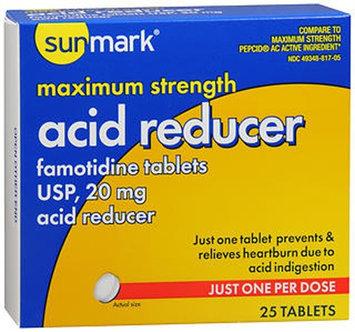 Sunmark Acid Reducer, 20 mg 25 tabs by Sunmark