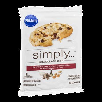 Pillsbury Simply Chocolate Chip Cookie Dough - 12 CT