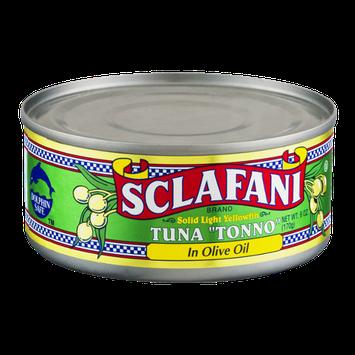 Sclafani Tonno Solid Light Yellowfin in Olive Oil