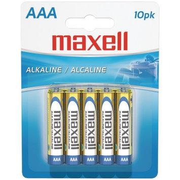 Maxell MAXELL 723810 - LR0310BP Alkaline Batteries AAA PK 10 Pk PK Carded