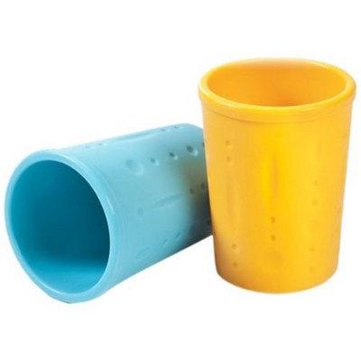 Luft Industries - Kinderville Kinderville Little Bites Cups (Blue/Orange) - 7.25 oz l 2-pack