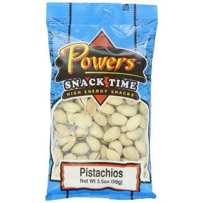 Powers Natural Pistachio, 3.5-Ounces (Pack of 6)