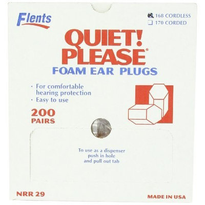 Flents By Apothecary Products, Inc. Flents Quiet Please Noise Reducing Ear Plugs, 200-Count