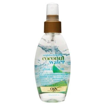 OGX Weightless Hydration Oil, Coconut Water, 4 fl oz
