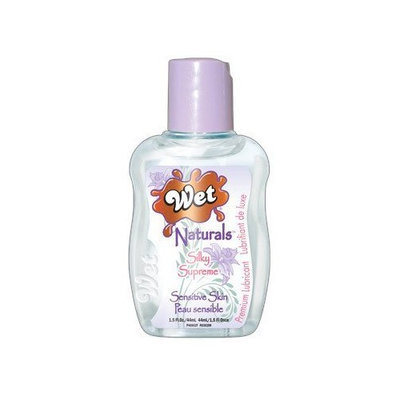 Wet Naturals 1.5 Oz Silky Supreme (Package of 2)