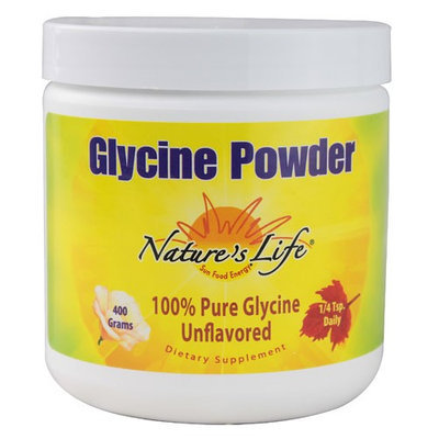 Nature's Life Glycine Powder Unflavored 400 g