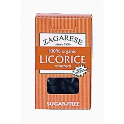 Zagarese 100% Organic Licorice, With Citrus, .88 Ounce Flip Top Box (Pack of 6)